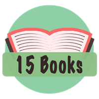 15 Books Badge