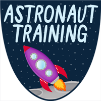 Astronaut Training Badge