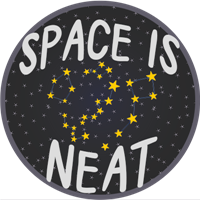 Space is Neat Badge