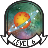 Level 6 Badge
