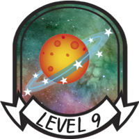 Level 9 Badge