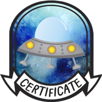 Teen Completion Certificate Badge