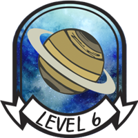 Teen Level 6 Badge