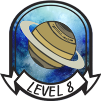 Teen Level 8 Badge