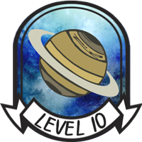 Teen Level 10 Badge
