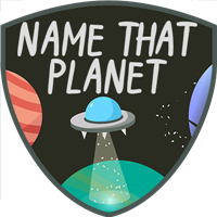 Name That Planet Badge