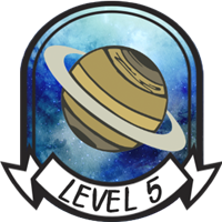 Teen Level 5 Badge