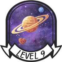 Adult Level 9 Badge